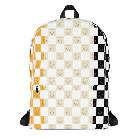 Happy Banana Backpack: Yellow/Black