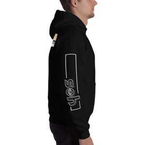 Yes Hooded Sweatshirt: Black