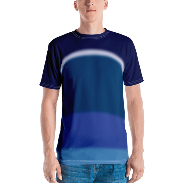 Neon Lights T-shirt: Blue