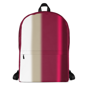 Neon Lights Backpack: Red