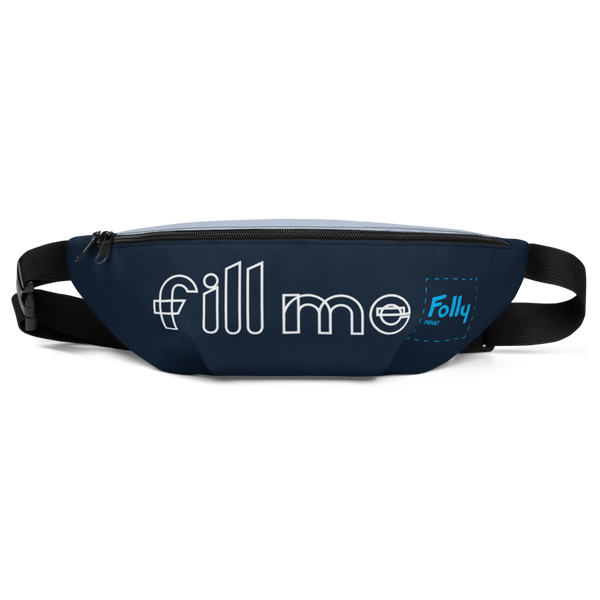 Fill Me Waist Bag: Navy