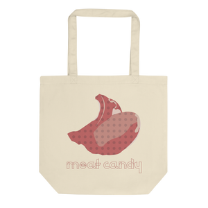 Meat Candy Tote bag: Natural