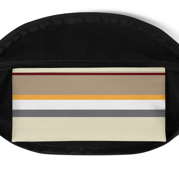 Wall Paper Waist Bag: Khaki