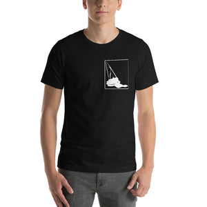 Flat Cream T-Shirt - Black