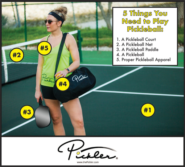 5 Things You Need to Play Pickleball | Pickler