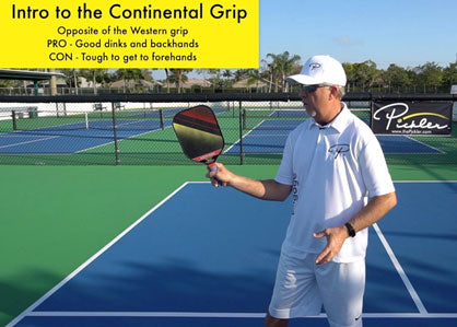 Continental Pickleball Paddle Grip | Pickler Pickleball