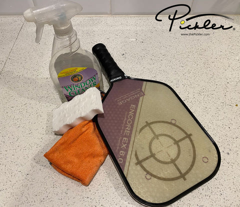 How to Clean Your Pickleball Paddle | Pickler Pickleball