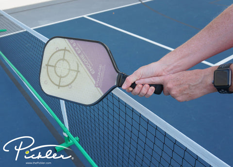 Index Finger Test for Pickleball Grip Size | Pickler Pickleball