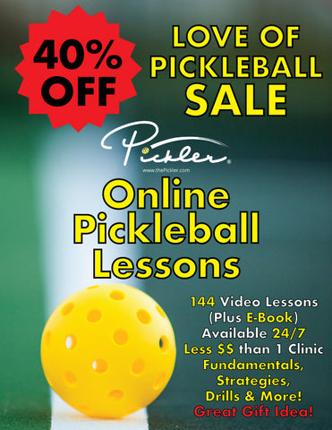 Online Pickleball Video Lessons | Pickler Pickleball