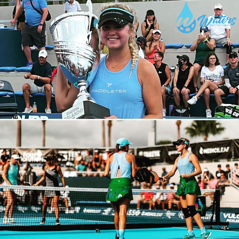 PPA Orlando Cup Is a Dream Come True for Team Waters   Pickler Pickleball