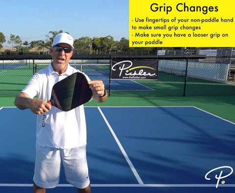 Pickleball Grip Changes | Pickler Pickleball