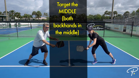 Playing Pickleball with a Lefty | Pickler Pickleball