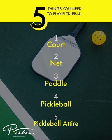 Things Need to Play Pickleball | Pickler Pickleball