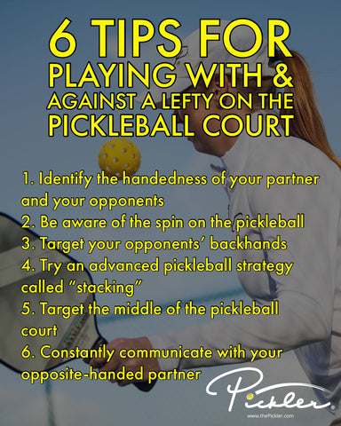 Tips for Playing Pickleball with a Lefty | Pickler Pickleball