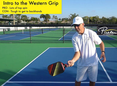 Western Pickleball Grip | Pickler Pickleball