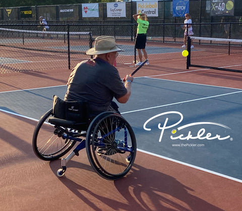 Wheelchair Pickleball Rules – How to Play Wheelchair Pickleball | Pickler Pickleball