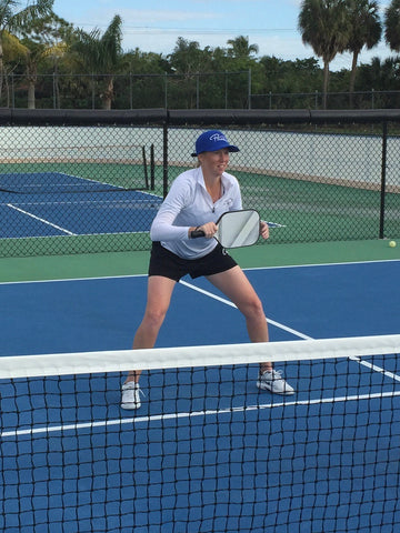 Pickler Pickleball Clothing, Accessories and Gear to Pickle Your Opponent Ready Position