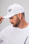 Pickler Pickleball White Performance Icon Adjustable Hat