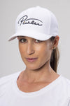 Pickler Pickleball White Performance Adjustable Hat