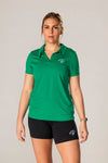 Pickler Pickleball Green Women's Victory Polo