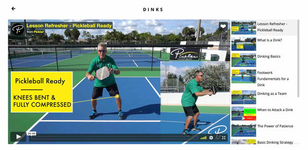 Pickler Pickleball - Dink Pickleball Lesson