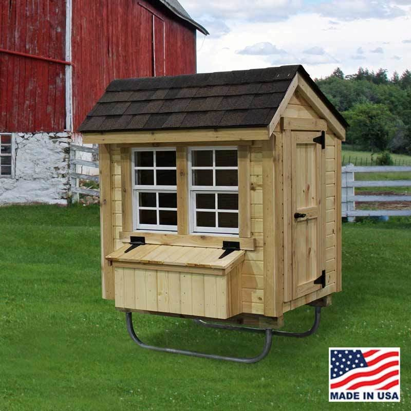 EZ-Fit 3' X 4' Chicken Coop