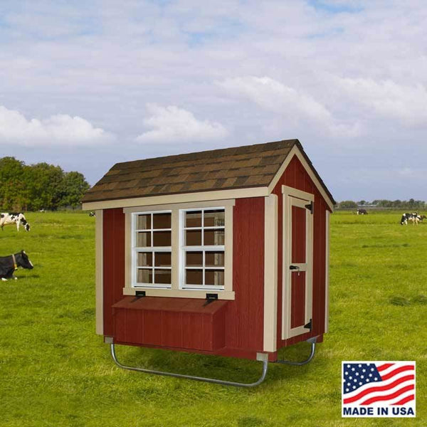 EZ-Fit 4' X 6' Chicken Coop