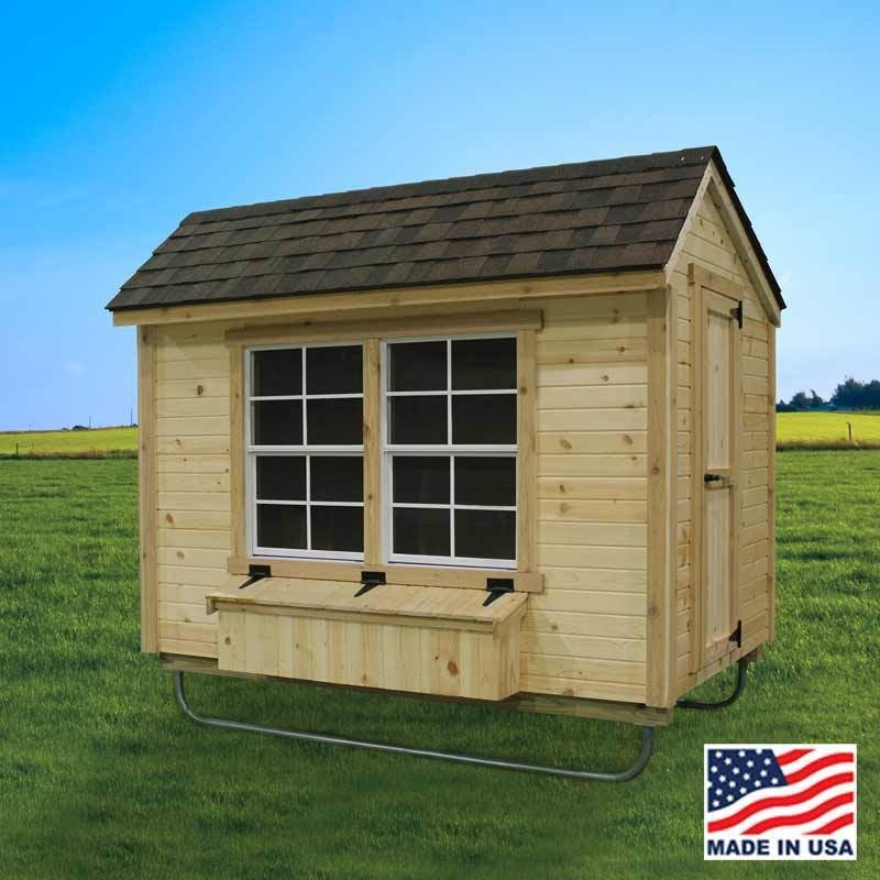 EZ-Fit 5' X 8' Chicken Coop
