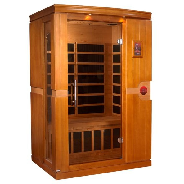 DYN-6210-01 Dynamic Low EMF Far Infrared 2-Person Home Sauna, Venice Edition