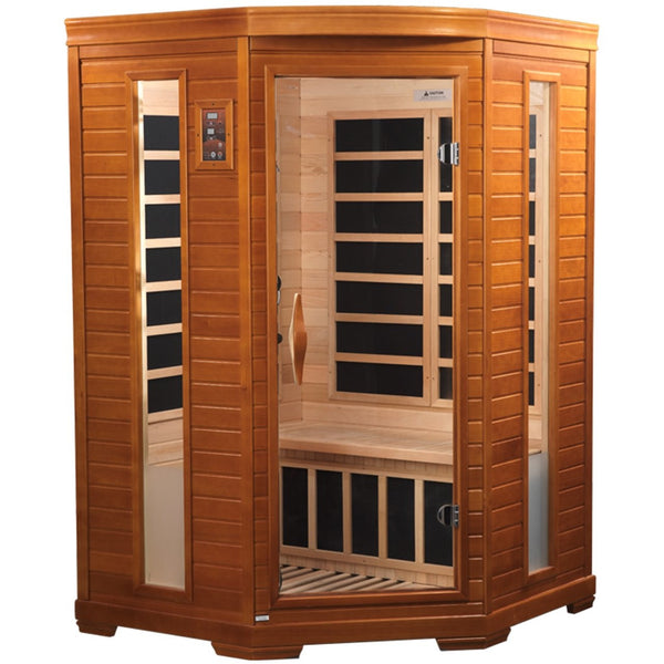 DYN-6225-02 Dynamic Low EMF Far Infrared 2-Person Home Sauna, LeMans Edition