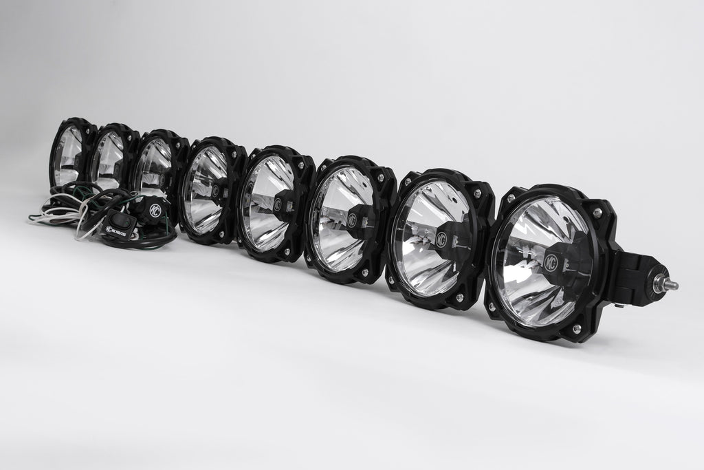 Ford F150/Raptor Pro6 Gravity LED 8-Light Overhead Sys 09-15