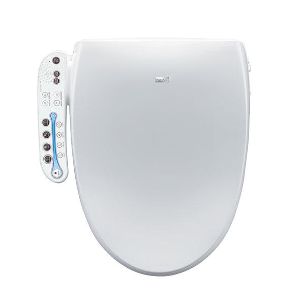 Bio Bidet Aura A7 Advanced Bidet Seat- Elongated White