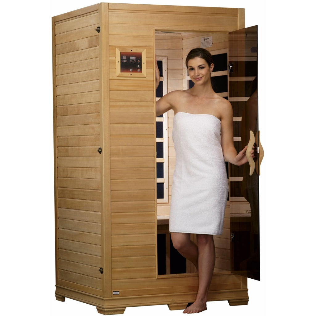 GDI-6109-01 Low EMF Far Infrared 1-2 Person Home Sauna