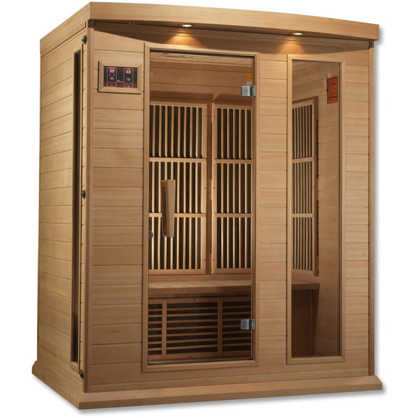 MX-K306-01 Low EMF FAR Infrared 3-Person Home Sauna