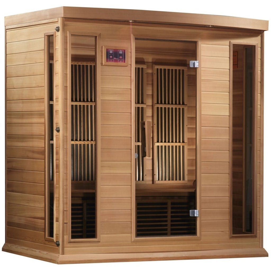 MX-K406-01 Low EMF FAR Infrared 4-Person Home Sauna