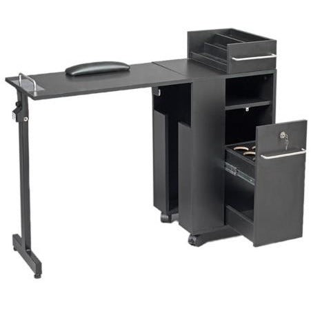 Pibbs 2009 Folding Manicure Table
