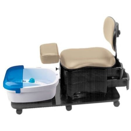 Pibbs 2035 Pedicure Portable Station With Leg Rest