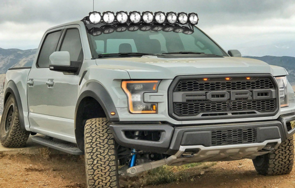 Ford Raptor Pro6 Gravity LED 9-Light Overhead Sys 2017