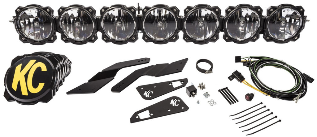 Can-Am X3 Pro6 Gravity LED 7-Light Overhead Sys