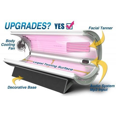 SunLite 16 Deluxe Home Tanning Bed