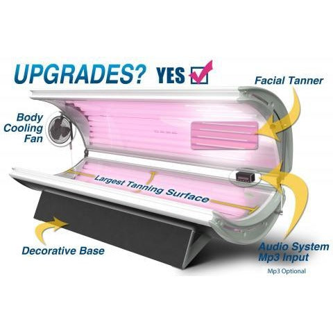 SunFire 24 Deluxe Home Tanning Bed