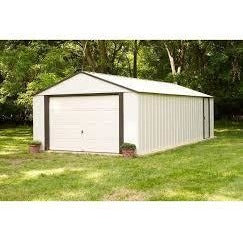 Vinyl Murryhill 12' x 17' Metal Garage