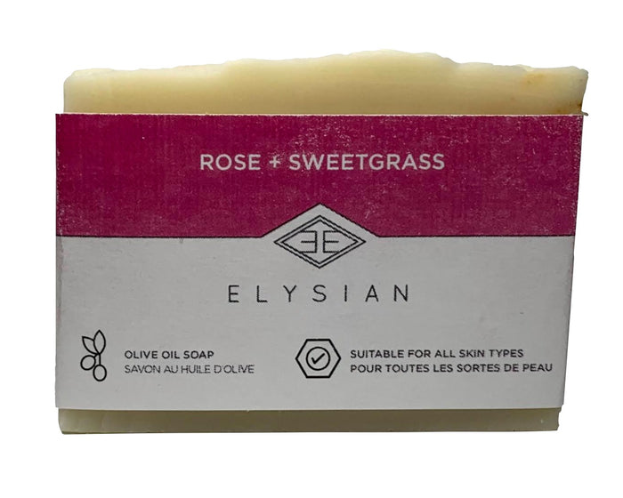 Rose + Sweetgrass Soap Bar