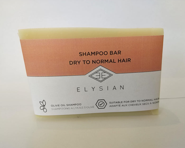 Shampoo Soap Bar Dry To Normal Hair