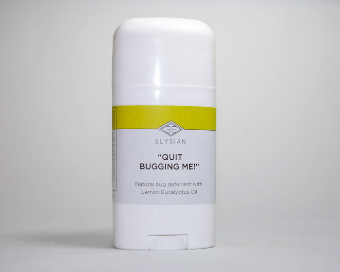 Quit Bugging Me Body Butter - Elysian Natural Soap + Skin Care