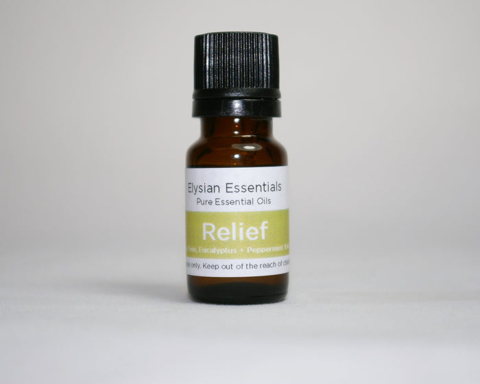 Relief Essential Oil Blend - Elysian Natural Soap + Skin Care