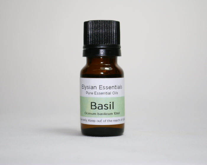 Basil Essential Oil - Elysian Natural Soap + Skin Care