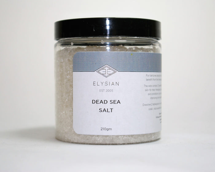 Dead Sea Salts - Elysian Natural Soap + Skin Care