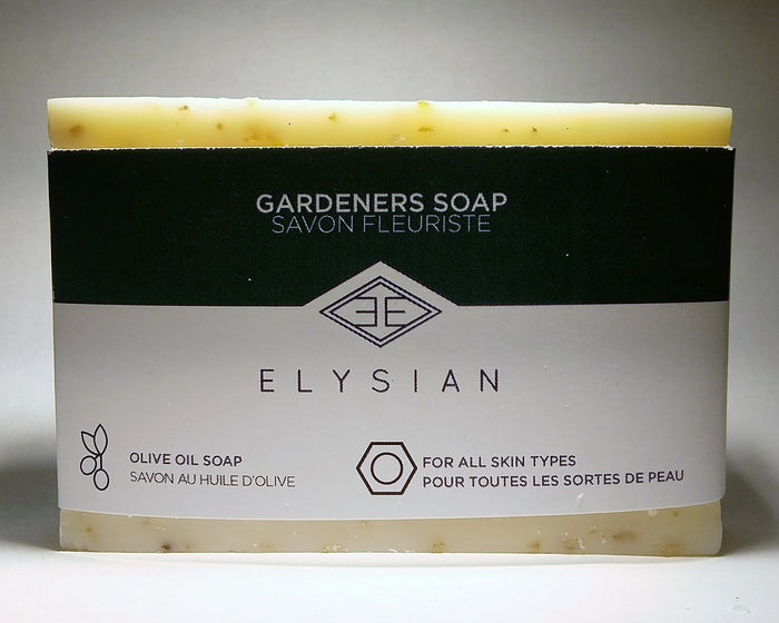 Gardeners Soap Bar - Elysian Natural Soap + Skin Care