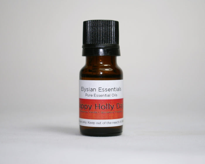 Happy Holly Days Essential Oil Blend - Elysian Natural Soap + Skin Care